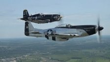Wings of Heritage Flight: B-17, P-51 Mustang and a...
