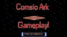 Cosmic Ark Review And Gameplay On Atari 2600