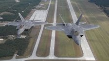 F-22 Raptors Arrive in Poland