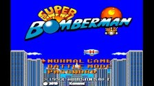 Super Bomberman 1 (Super Nintendo) Opening Intro R...