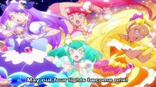 Star Twinkle Pretty Cure's First Group Attack ...