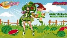 Cure March and Thiana the Nature Fairy Custom Wall...