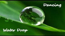 DANCING WATER DROP DROPLET - Meditation on The Mag...