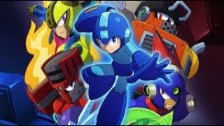 Mega Man VS Acid Man In Mega Man 11 (Nintendo Swit...