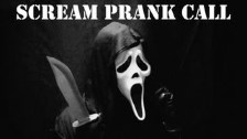 Scream Prank Call, Ghostface Phone Trolling! AMAZI...