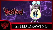 Speed Drawing: MobéBuds - Verni (Concept 1) | A....
