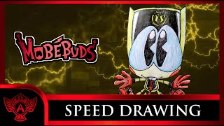 Speed Drawing: MobéBuds - Classic Bulkey (Concep...