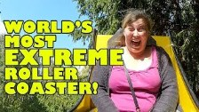 World's Most EXTREME Roller Coaster!!! OMG! CR...