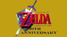 The Legend Of Zelda : Ocarina Of Time 20th Anniver...