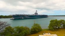 Time-Lapse of Ships Entering Pearl Harbor for RIMP...