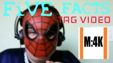 TAG Video, Five Fun Facts about me!