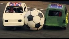 England Vs Australia: Reliant Robin Football - Top...