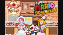 Princess Peach gets a Job at Kirakira Patisserie