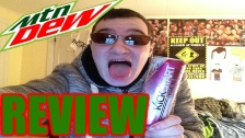 MOUNTAIN DEW KICKSTART RASPBERRY CITRUS TASTE TEST...